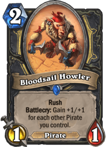 Bloodsail Howler - Rastakhan's Rumble