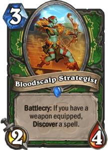 Bloodscalp Strategist - Rastakhan's Rumble