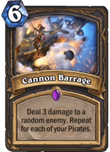 Cannon Barrage - Rastakhan's Rumble