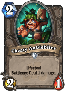 Cheaty Anklebiter - Rastakhan's Rumble