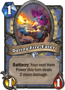 Daring Fire-Eater - Rastakhan's Rumble