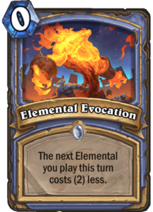 Elemental Evocation - Rastakhan's Rumble