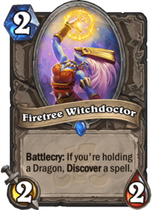 Firetree Witchdoctor - Rastakhan's Rumble