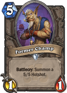 Former Champ - Rastakhan's Rumble