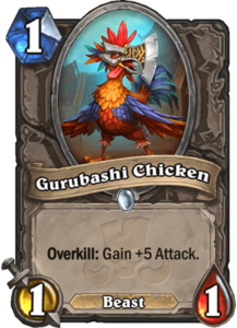 Gurubashi Chicken - Rastakhan's Rumble