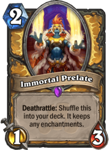 Immortal Prelate - Rastakhan's Rumble