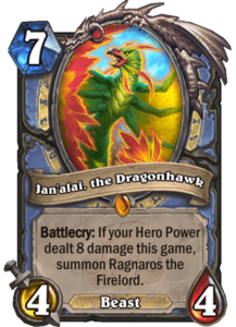 Jan'alai, the Dragonhawk - Rastakhan's Rumble