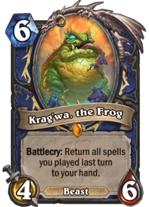 Krag'wa, the Frog - Rastakhan's Rumble