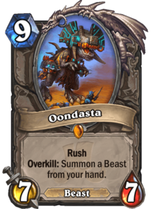 Oondasta - Rastakhan's Rumble