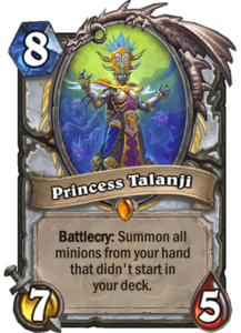 Princess Talanji - Rastakhan's Rumble