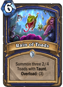 Rain of Toads - Rastakhan's Rumble