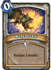 Regenerate - Rastakhan's Rumble