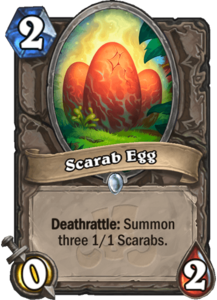 Scarab Egg - Rastakhan's Rumble