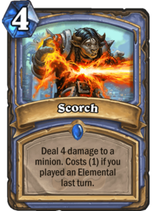 Scorch - Rastakhan's Rumble
