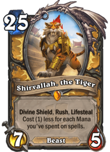 Shirvallah, the Tiger - Rastakhan's Rumble