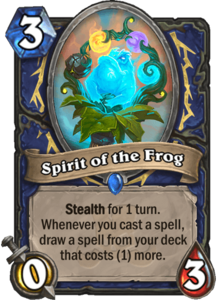 Spirit of the Frog - Rastakhan's Rumble