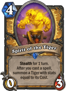 Spirit of the Tiger - Rastakhan's Rumble