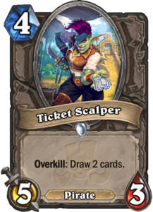 Ticket Scalper - Rastakhan's Rumble
