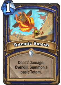 Totemic Smash - Rastakhan's Rumble