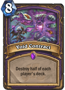 Void Contract - Rastakhan's Rumble