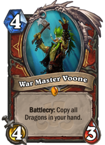 War Master Voone - Rastakhan's Rumble