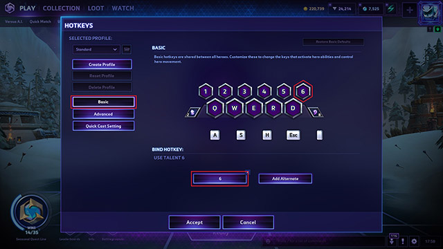 Gladiator's Medallion Hotkeys
