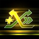 Crossfade - Speed Boost Icon