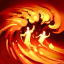 Lava Wave Icon
