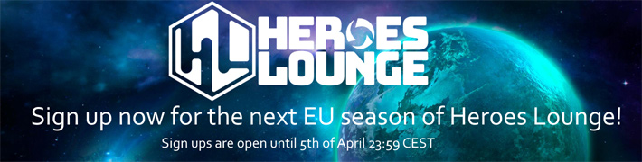 Heroes Lounge Sign Ups EU 2020
