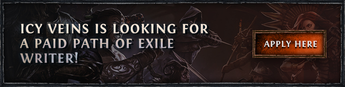 Icy Veins is recruiting a Path of Exile