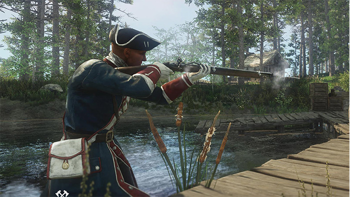 Musket Weapon in New World