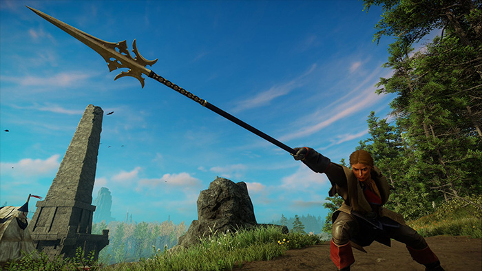 Spear Weapon in New World