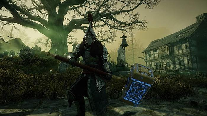 War Hammer Weapon in New World