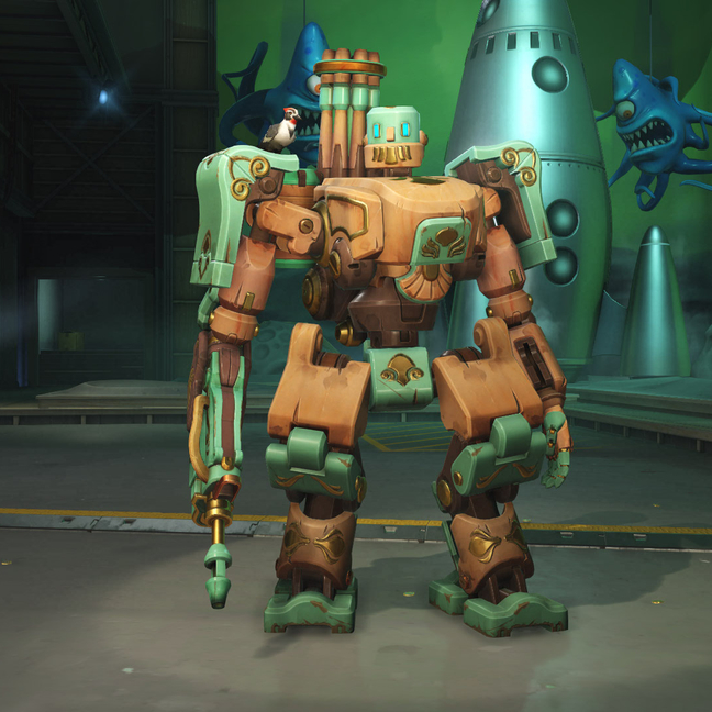 Bastion Antique Skin