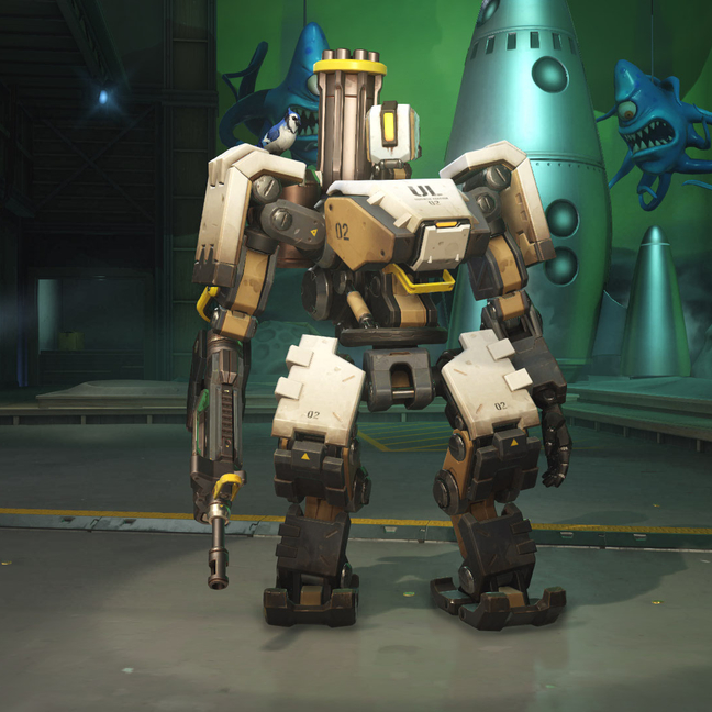 Bastion Defense Matrix Skin