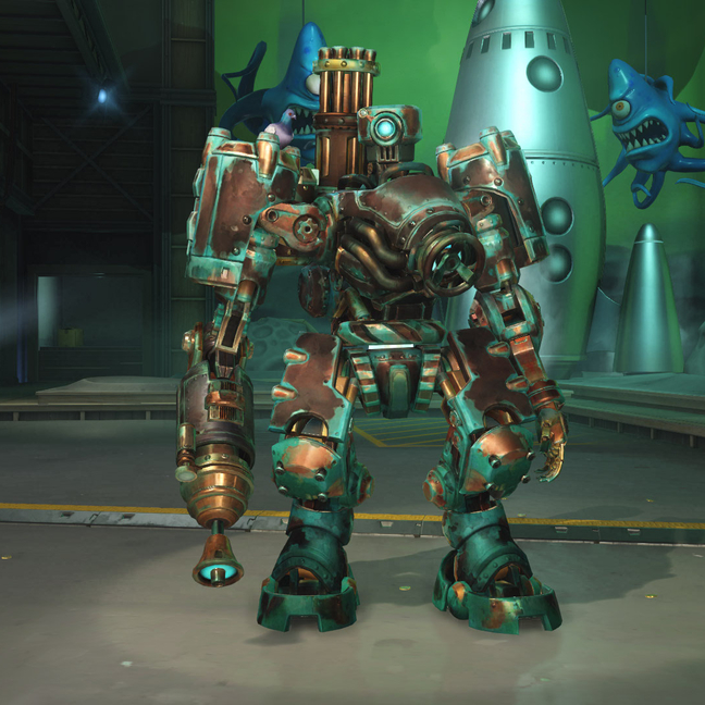 Bastion Gearbot Skin