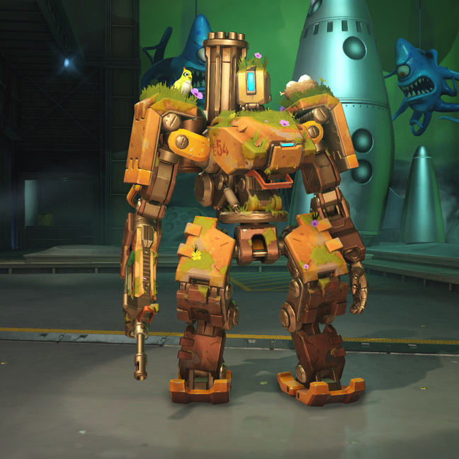 Bastion Overgrown Skin