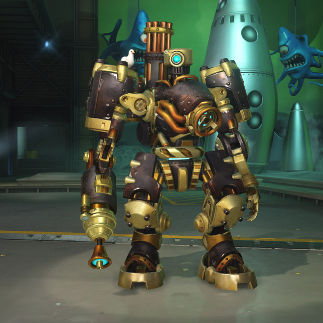 Bastion Steambot Skin