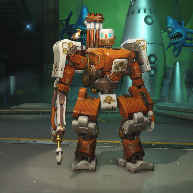 Bastion Woodbot Skin