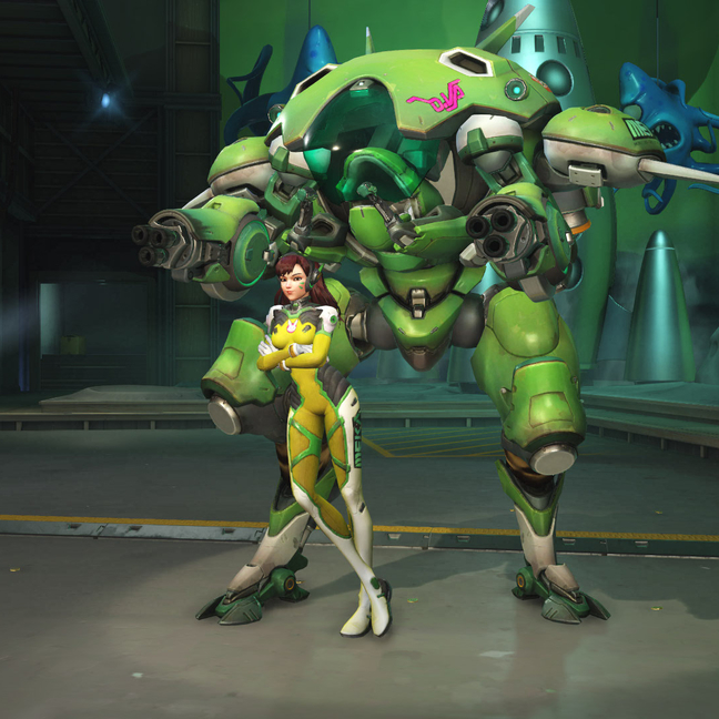 D.Va Lemon-Lime Skin