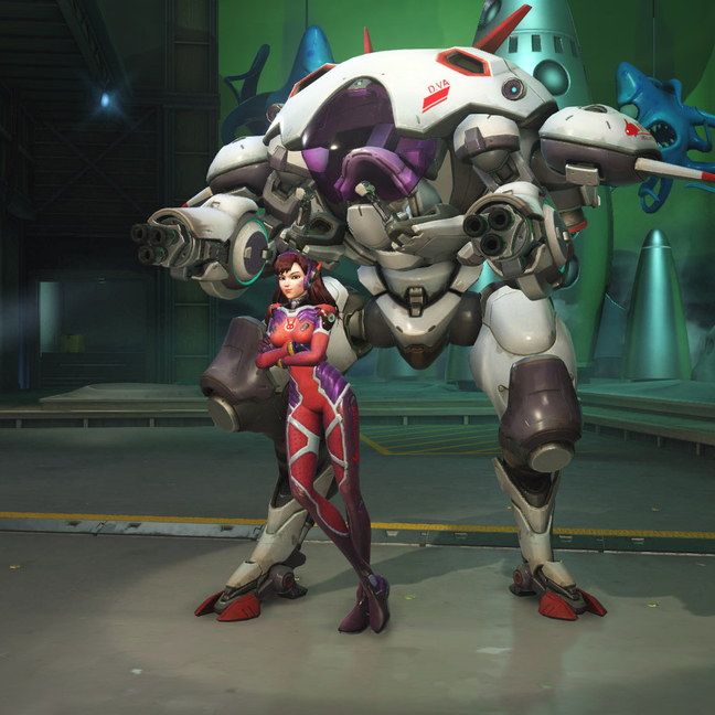 D.Va White Rabbit Skin