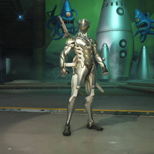 Genji Chrome Skin