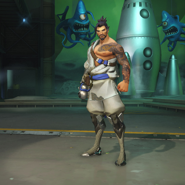 Hanzo Cloud Skin