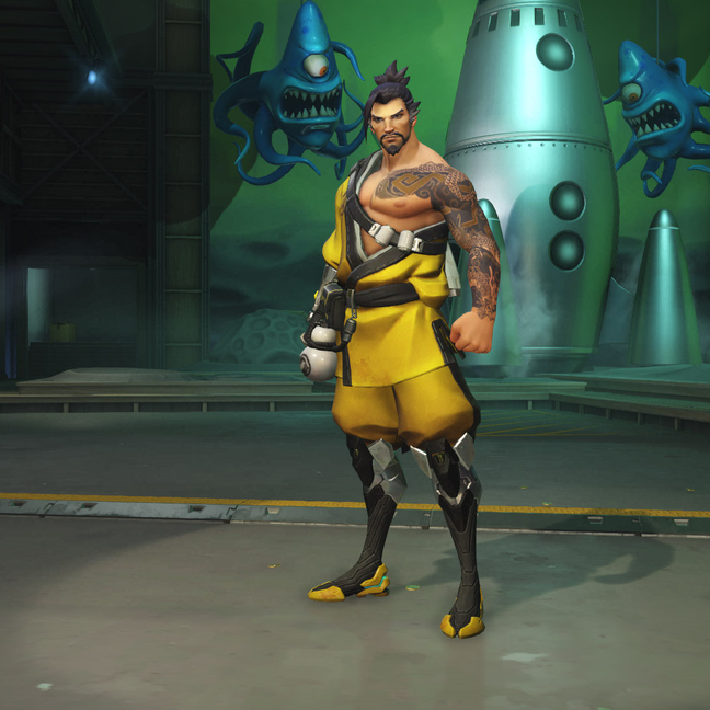 Hanzo Dragon Skin