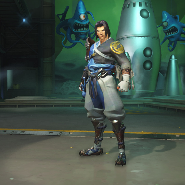 Hanzo Young Master Skin