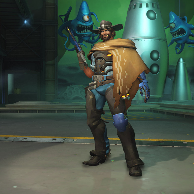 McCree On The Range Skin
