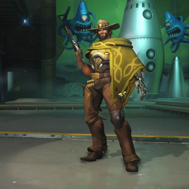 McCree Wheat Skin
