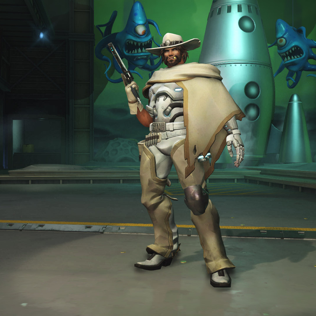 McCree White Hat Skin