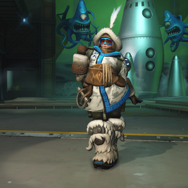 Mei Yeti Hunter Skin