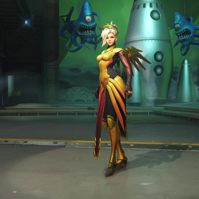 Mercy Amber Skin